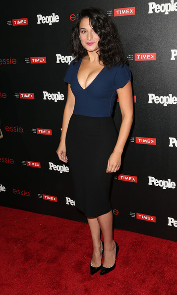 Jenny Slate Pumps [ones to watch,clothing,dress,shoulder,cocktail dress,premiere,little black dress,carpet,red carpet,neck,waist,arrivals,people,jenny slate,california,los angeles,the line,event]