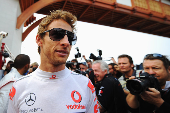 Jenson Button Aviator Sunglasses