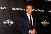 Jeremy Renner Suede Loafers