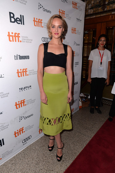 Jess Weixler Peep Toe Pumps