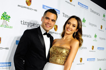 Jessica Alba Cash Warren The 2014 Baby2Baby Gala, Presented By Tiffany & Co - Red Carpet