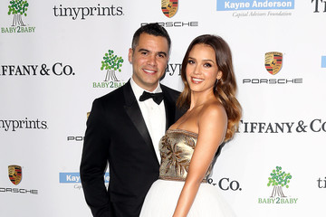 Jessica Alba Cash Warren The 2014 Baby2Baby Gala, Presented by Tiffany & Co - Arrivals