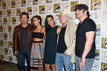 "Jessica Alba Robert Rodriguez ""Frank Miller's Sin City: A Dame To Kill For"" Press Line - Comic-Con International 2014"