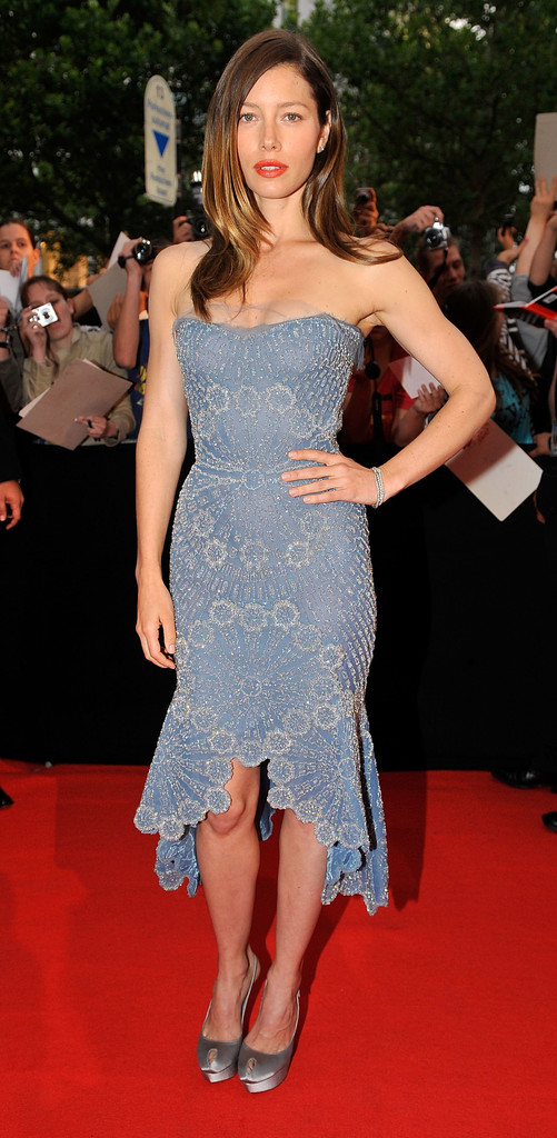 Jessica Biel Strapless Dress Jessica Biel Looks