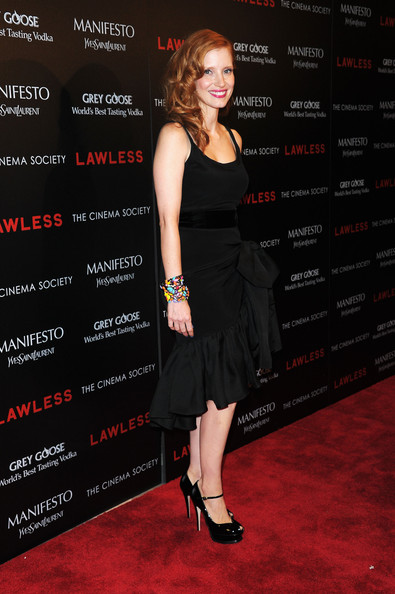 Jessica Chastain Beaded Bracelet