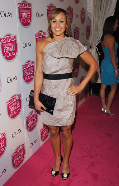 Jessica Ennis One Shoulder Dress