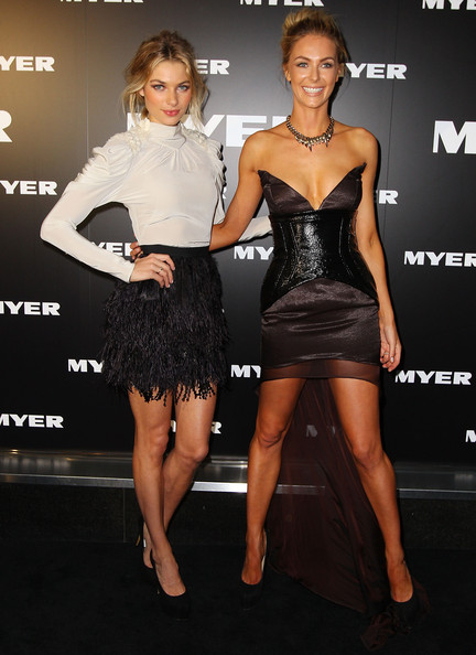 Myer A/W 2012 Collection Launch - Arrivals