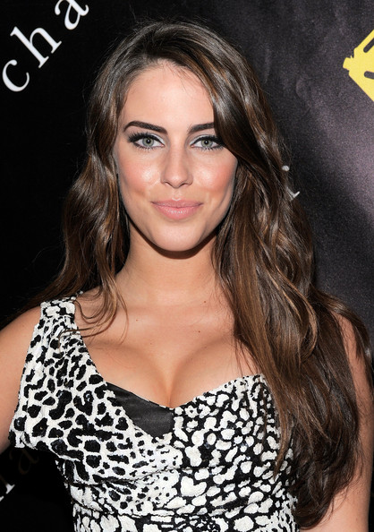 Jessica Lowndes Metallic Eyeshadow