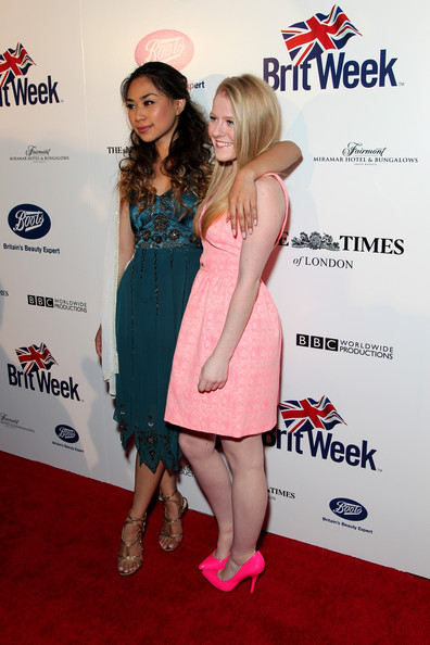 Arrivals at the BritWeek Launch Party