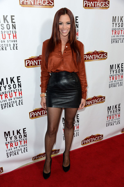 Jessica Sutta Leather Dress