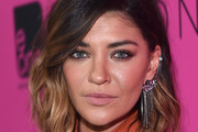 Jessica Szohr Medium Wavy Cut