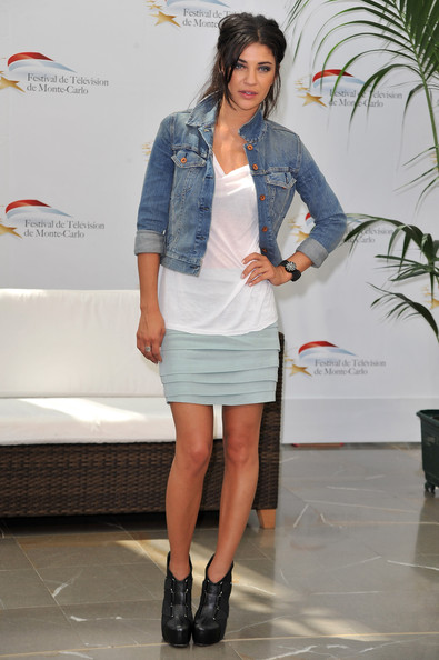 Jessica Szohr Denim Jacket