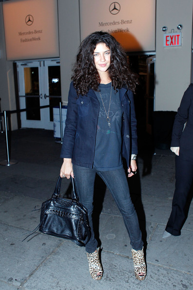 Jessica Szohr Studded Shoulder Bag