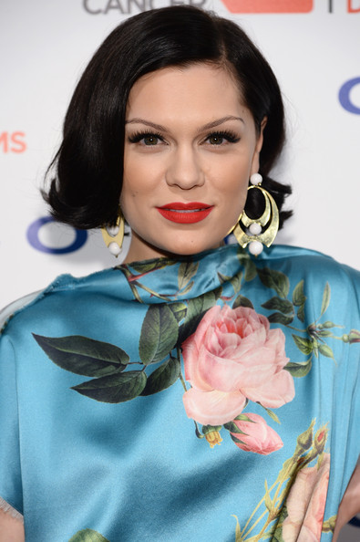 Jessie J Bob [hair,face,lip,hairstyle,beauty,eyebrow,turquoise,fashion,black hair,long hair,evan sohn,jessie j,cipriani wall street,new york city,the sohn conference foundation - arrivals,sohn conference foundation,blood cancer gala]