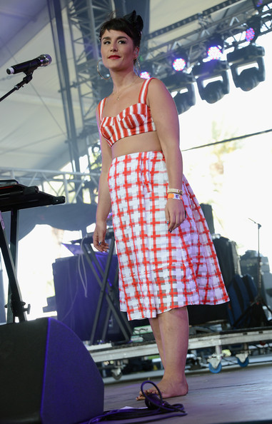 Jessie Ware Knee Length Skirt