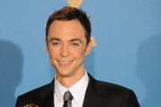 Jim Parsons Narrow Solid Tie