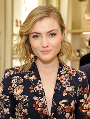 Skyler Samuels looked adorable with her short wavy hairstyle while attending a Delete Blood Cancer event.