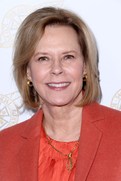 JoBeth Williams Bob [hair,face,hairstyle,chin,blond,layered hair,premiere,neck,smile,arrivals,jobeth williams,beverly hills,california,the beverly hilton hotel,sag-aftra foundation,international cinematographers guild publicists awards]