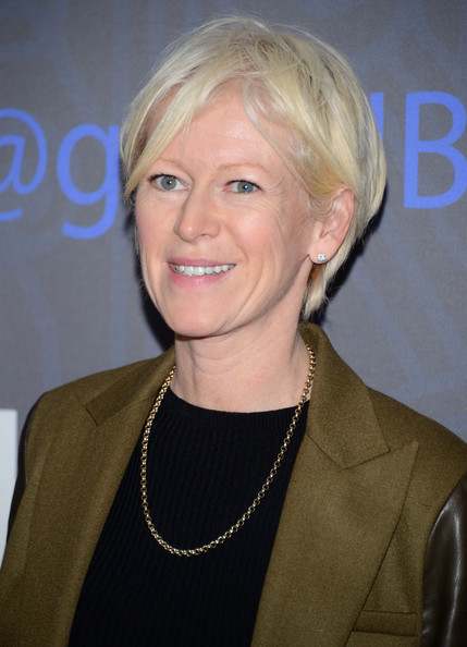 Joanna Coles Messy Cut [season,hair,face,blond,hairstyle,chin,smile,pixie cut,layered hair,arrivals,girls,joanna coles,new york city,nyu skirball center,hbo hosts the premiere of ``girls,hbo,premiere,season]