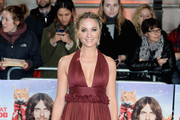 Joanne Froggatt Halter Dress
