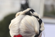 Lady Gaga Braided Updo