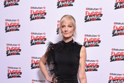 Joely Richardson Form-Fitting Dress