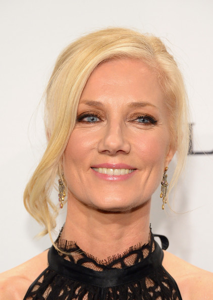 Joely Richardson Bobby Pinned updo