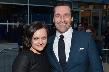 Jon Hamm Elisabeth Moss 'Mad Men' Season 7 Premiere in Hollywood — Part 2