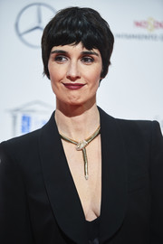 Paz Vega sported an old-school pixie at the Jose Maria Forque Awards.
