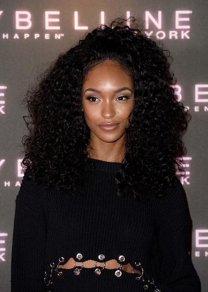 Jourdan Dunn Long Curls