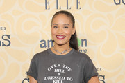Joy Bryant Metallic Clutch