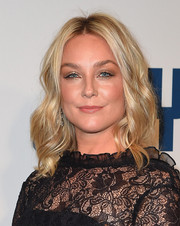 Elisabeth Rohm looked radiant with her blonde waves at the New York premiere of 'Joy.'