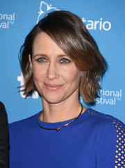 Vera Farmiga opted for a sweet wavy 'do when she attended the TIFF press conference for 'The Judge.'