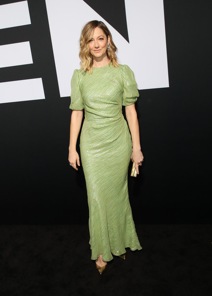 Judy Greer Evening Dress [clothing,dress,fashion model,shoulder,green,fashion,cocktail dress,day dress,formal wear,joint,arrivals,judy greer,california,hollywood,tcl chinese theatre,universal pictures,premiere,halloween]