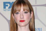 Judy Greer Long Straight Cut with Bangs
