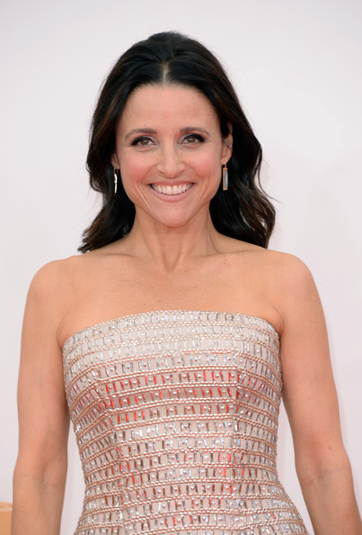 Julia Louis-Dreyfus Long Wavy Cut