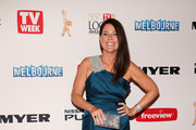 Julia Morris One Shoulder Dress
