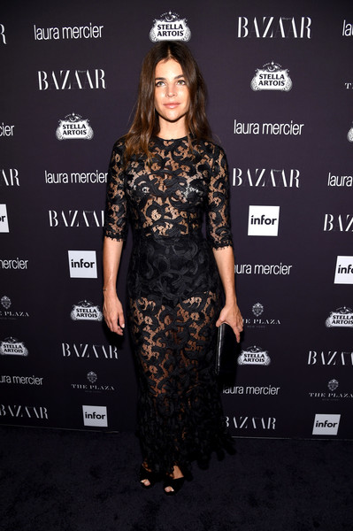 Julia Restoin-Roitfeld Sheer Dress