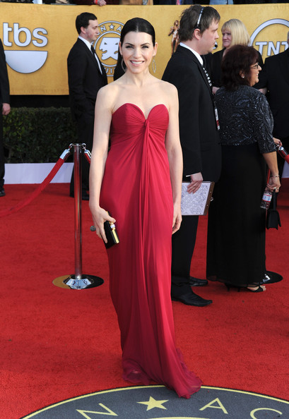 Julianna Margulies Satin Clutch