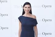 Julianna Margulies Off-the-Shoulder Dress