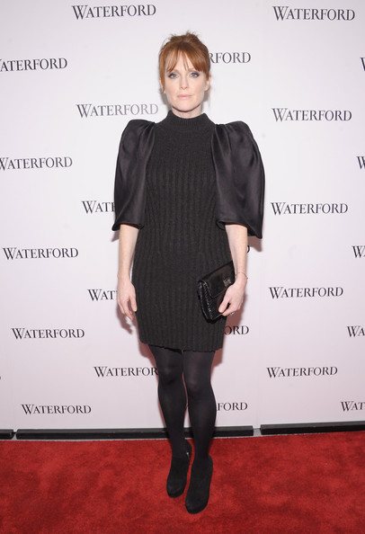 Julianne Moore Sweater Dress