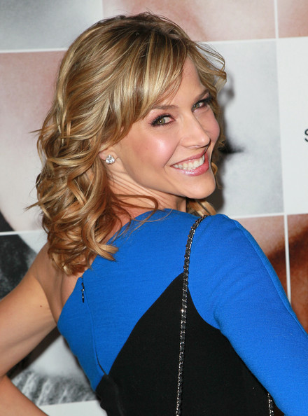 Julie Benz Medium Curls with Bangs