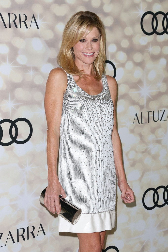 Julie Bowen Beaded Dress Julie Bowen Looks Stylebistro