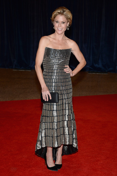 Julie Bowen Strapless Dress