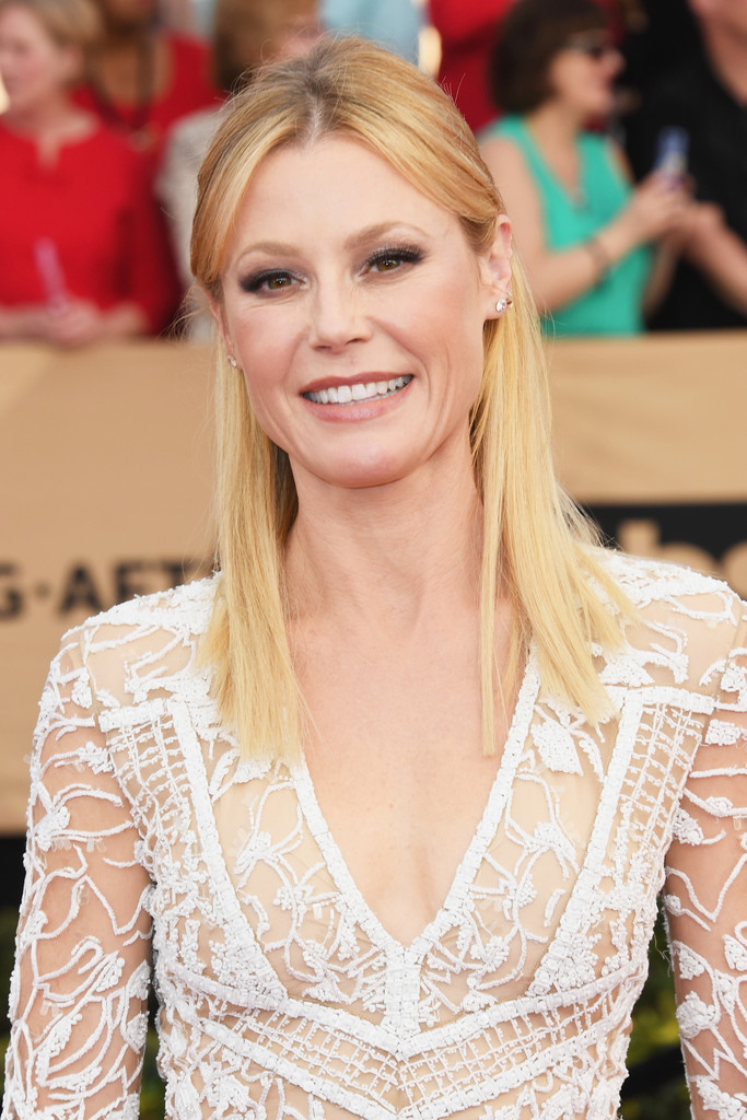 Julie Bowen Half Up Half Down Julie Bowen Looks
