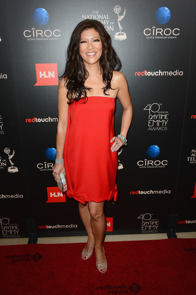 Julie Chen Strapless Dress