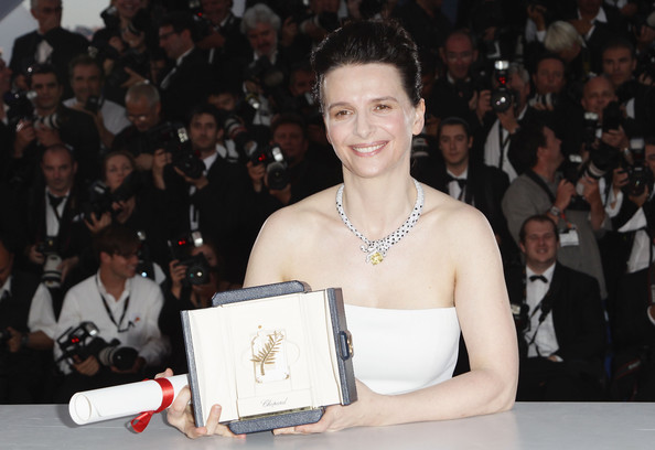 Juliette Binoche Diamond Collar Necklace
