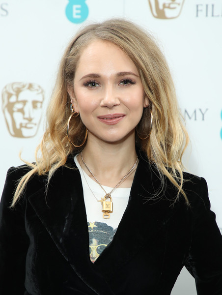 Juno Temple Gold Hoops