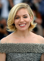 Sienna Miller looked downright adorable wearing this retro-style bob at the Cannes Jury photocall.