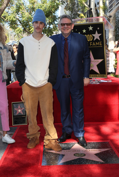 Justin Bieber Corduroy [lucian grainge honored with a star on the hollywood walk of fame,red carpet,carpet,red,flooring,premiere,event,footwear,suit,ceremony,shoe,lucian grainge,sir,justin bieber,star,hollywood walk of fame,california,l,event,lucian grainge,justin bieber,hollywood walk-of-fame modern suite,universal music group,yummy,talent manager,photograph,hollywood]